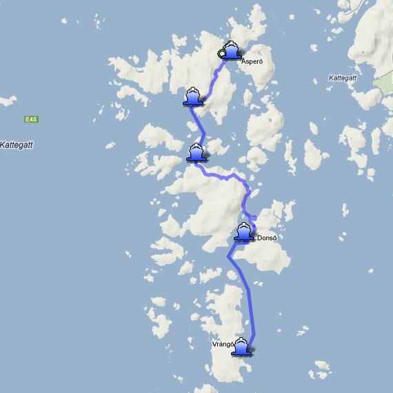 vrångö karta Picnic tips on the islands on the west coast of Gothenburg vrångö karta